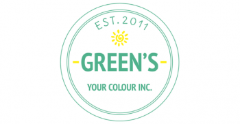 Green's Your Colour Logo